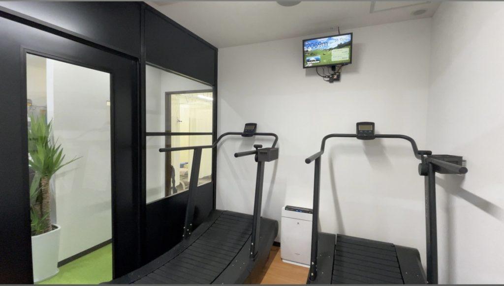 小型高地トレーニングルーム